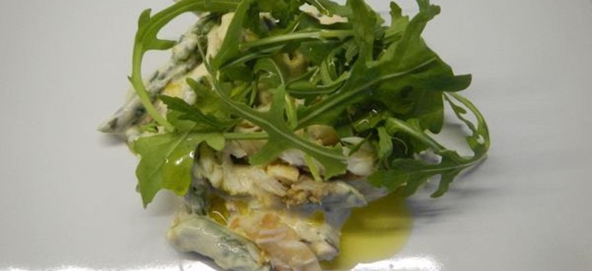 Recipe for Asparagus and Crab Salad