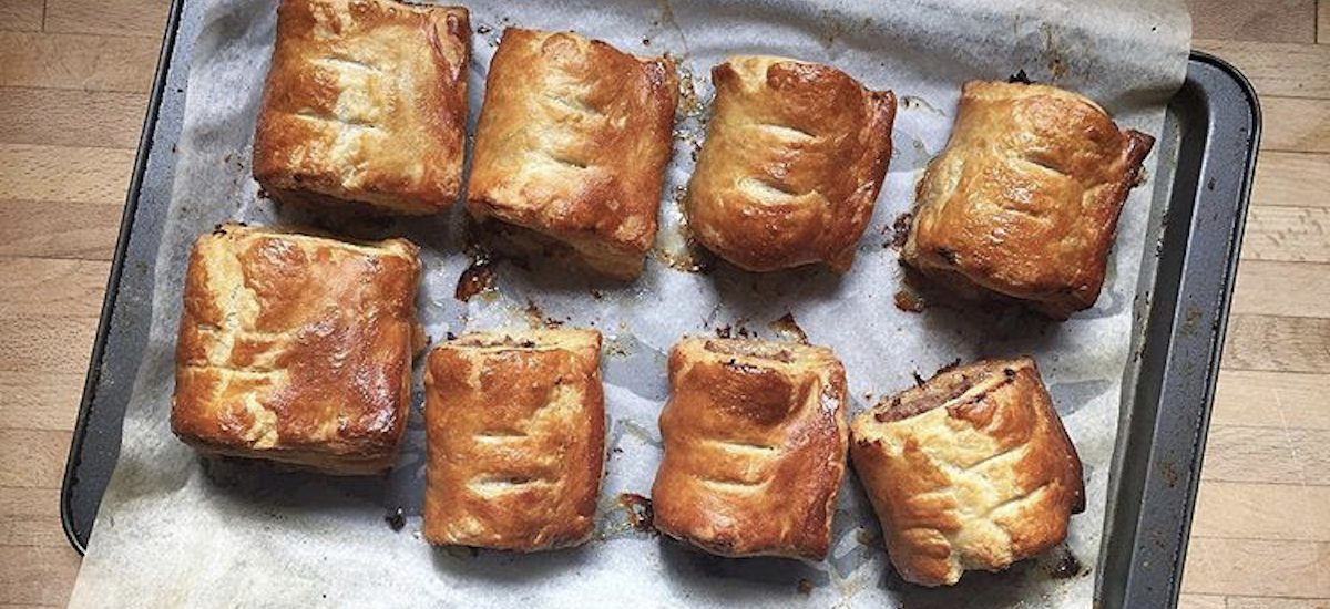 Recipe for Homemade Sausage Rolls