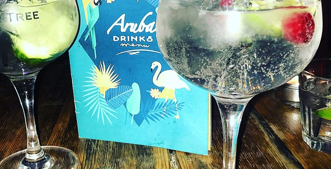 New Menus at Aruba Bournemouth
