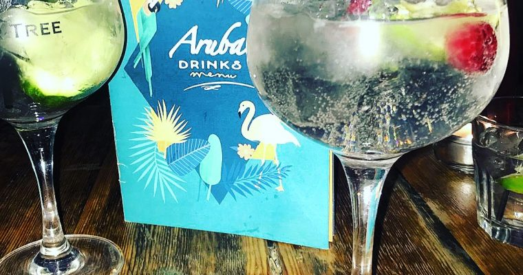 New Menus at Aruba – Bournemouth