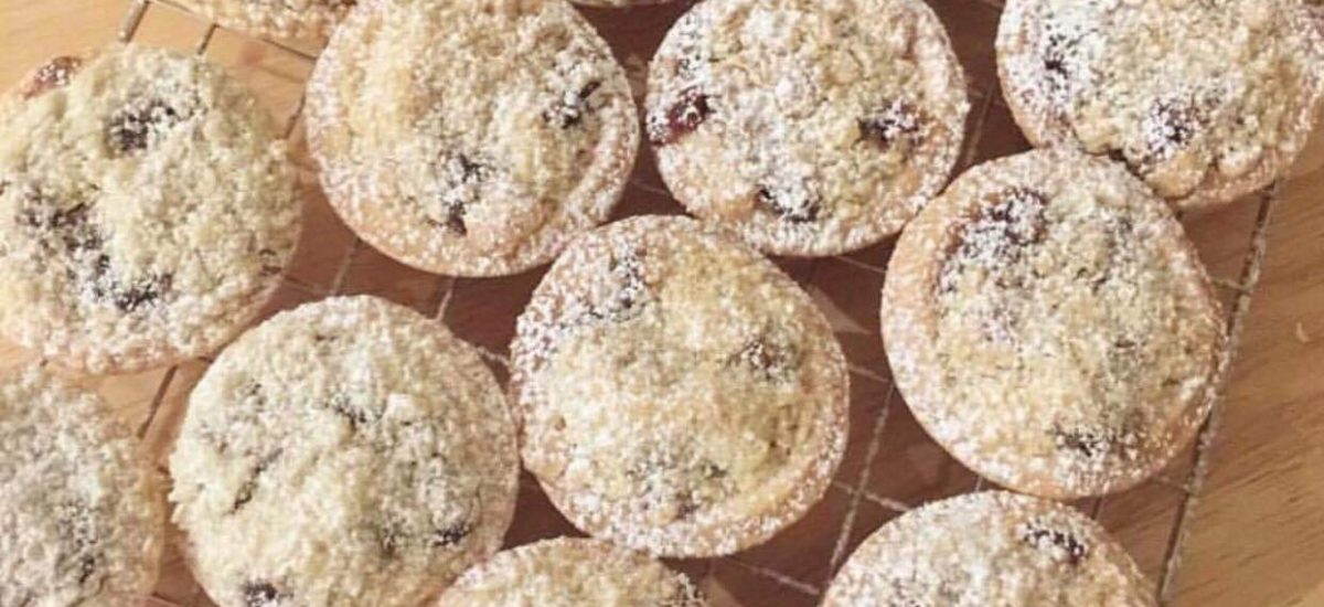 Recipe for Crumble Mince Pies