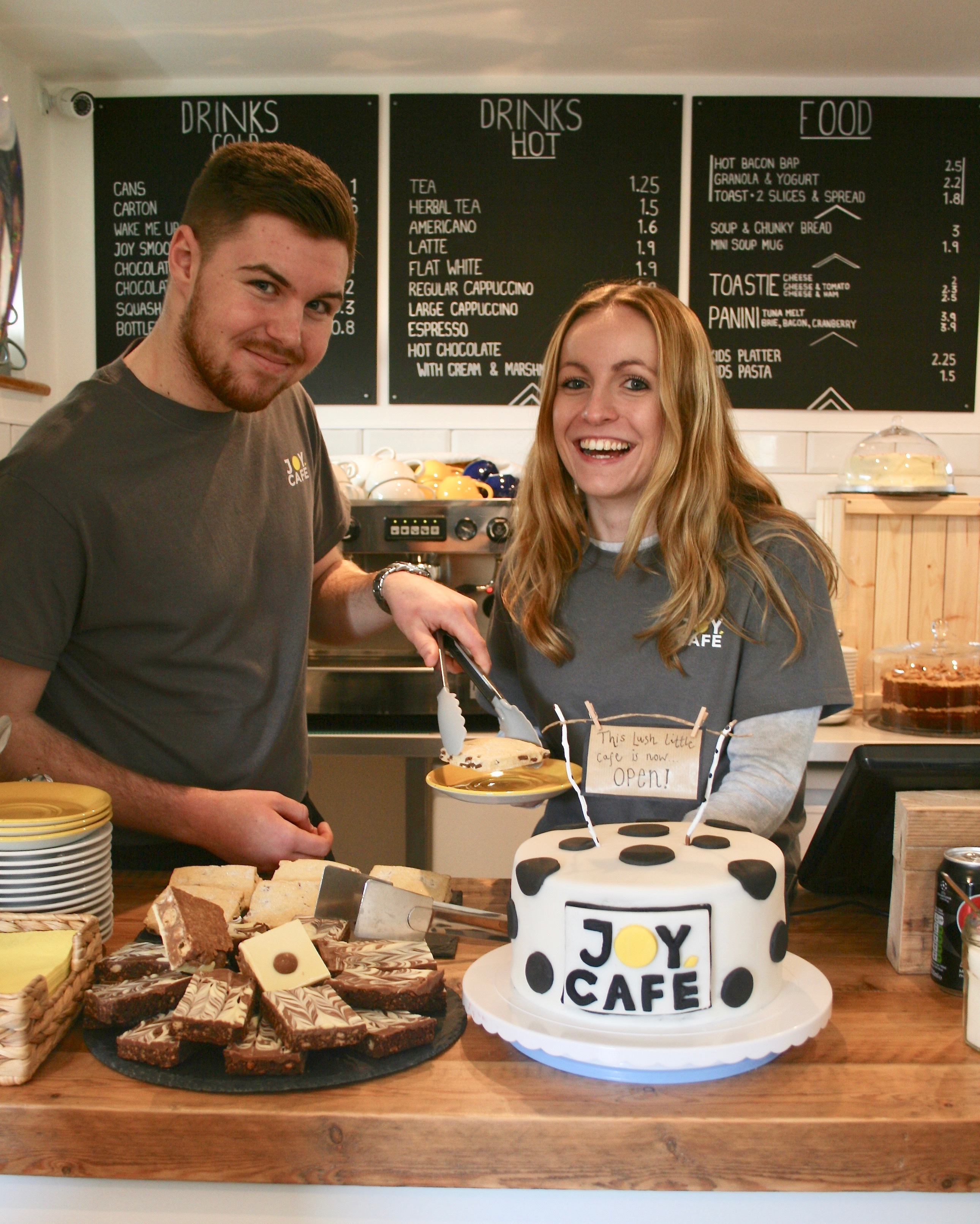 Review of Joy Cafe in Boscombe