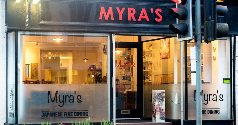 Review of Myra's Kaiseki