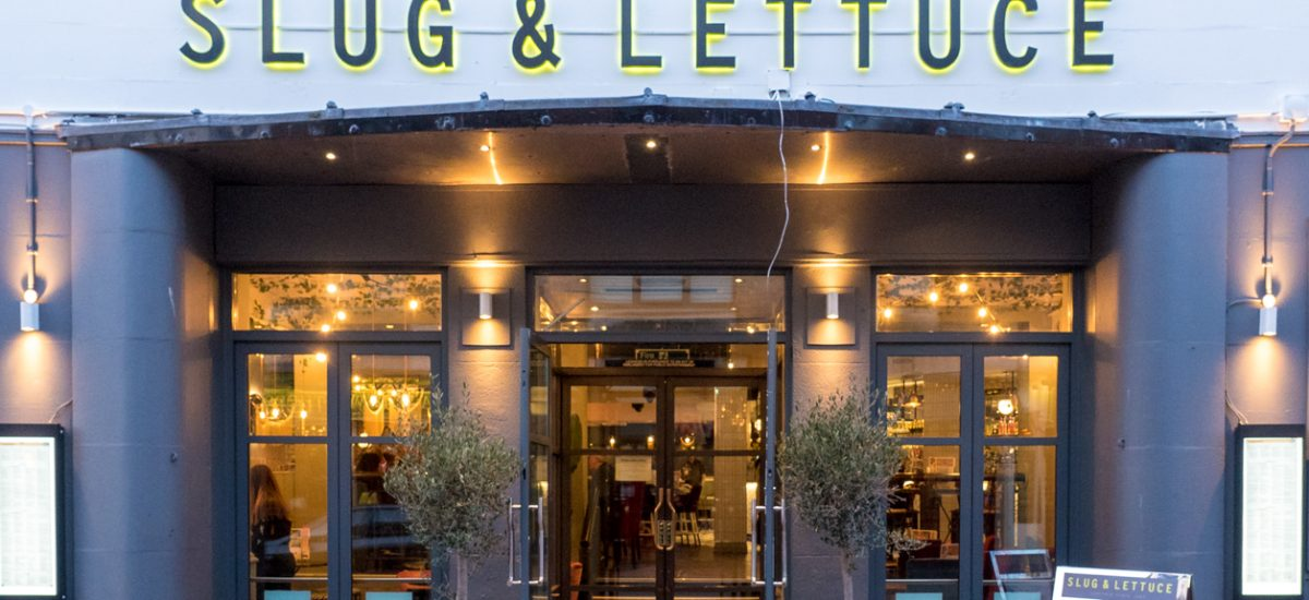 Review of the cocktails at Slug and Lettuce in Weymouth