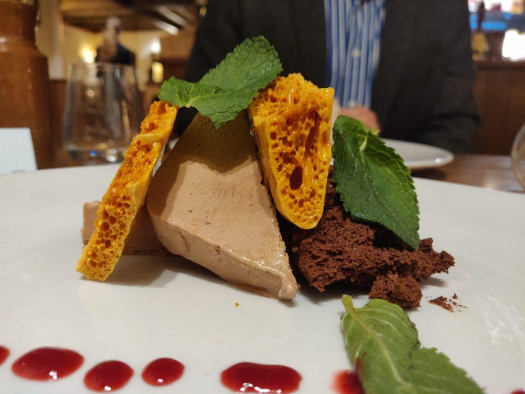Dessert at West Bay Hotel