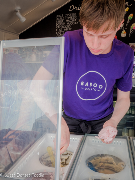 Review of Baboo Gelato in West Bay
