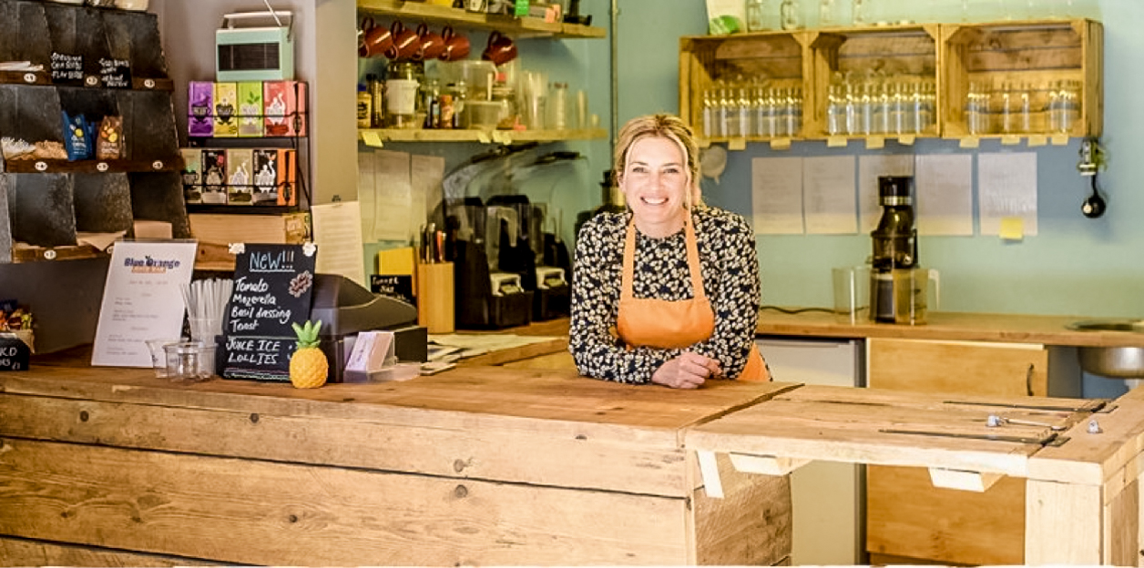 Interview with Blue Orange Juice Bar in Ashley Cross