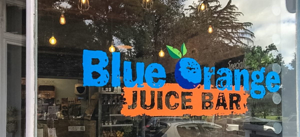 Interview with the owner of Blue Orange Juice Bar in Ashley Cross