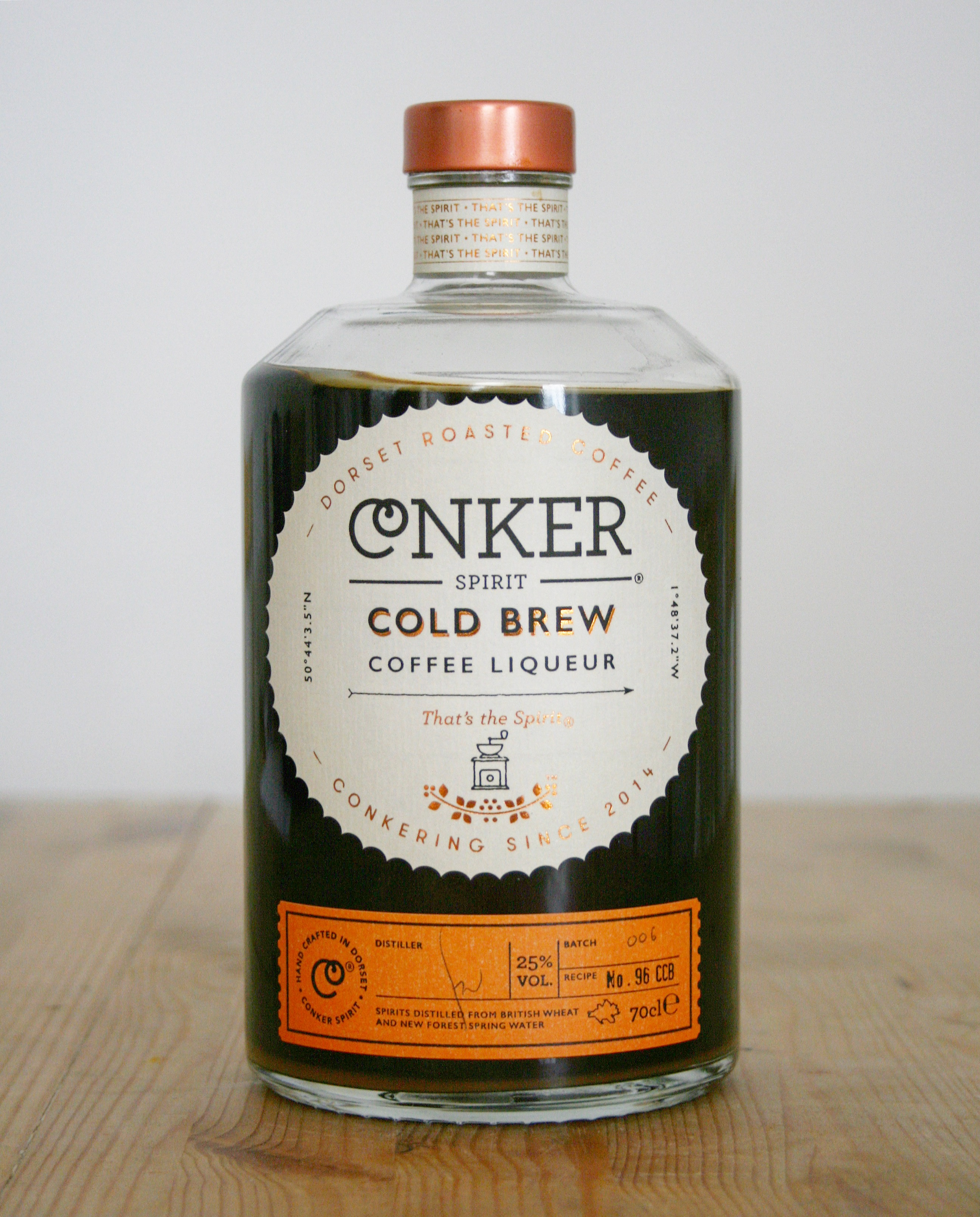 Review of Conker Spirit's Cold Brew liquer