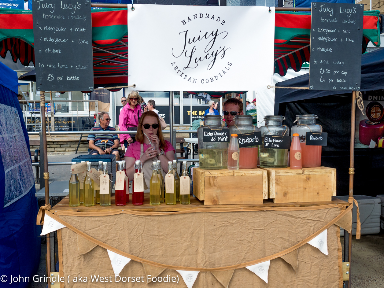 Interview with the founder of Juicy Lucy Cordials.