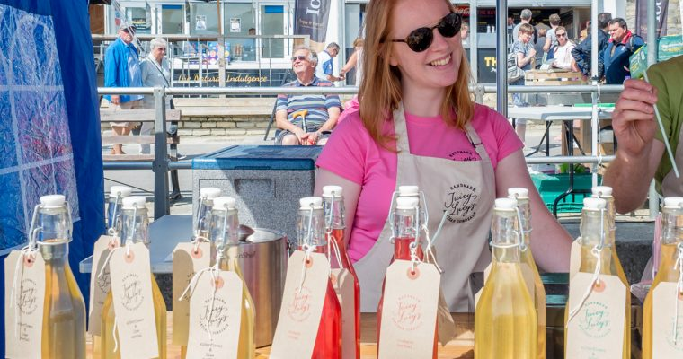 Interview with the founder of Juicy Lucy's Cordials.