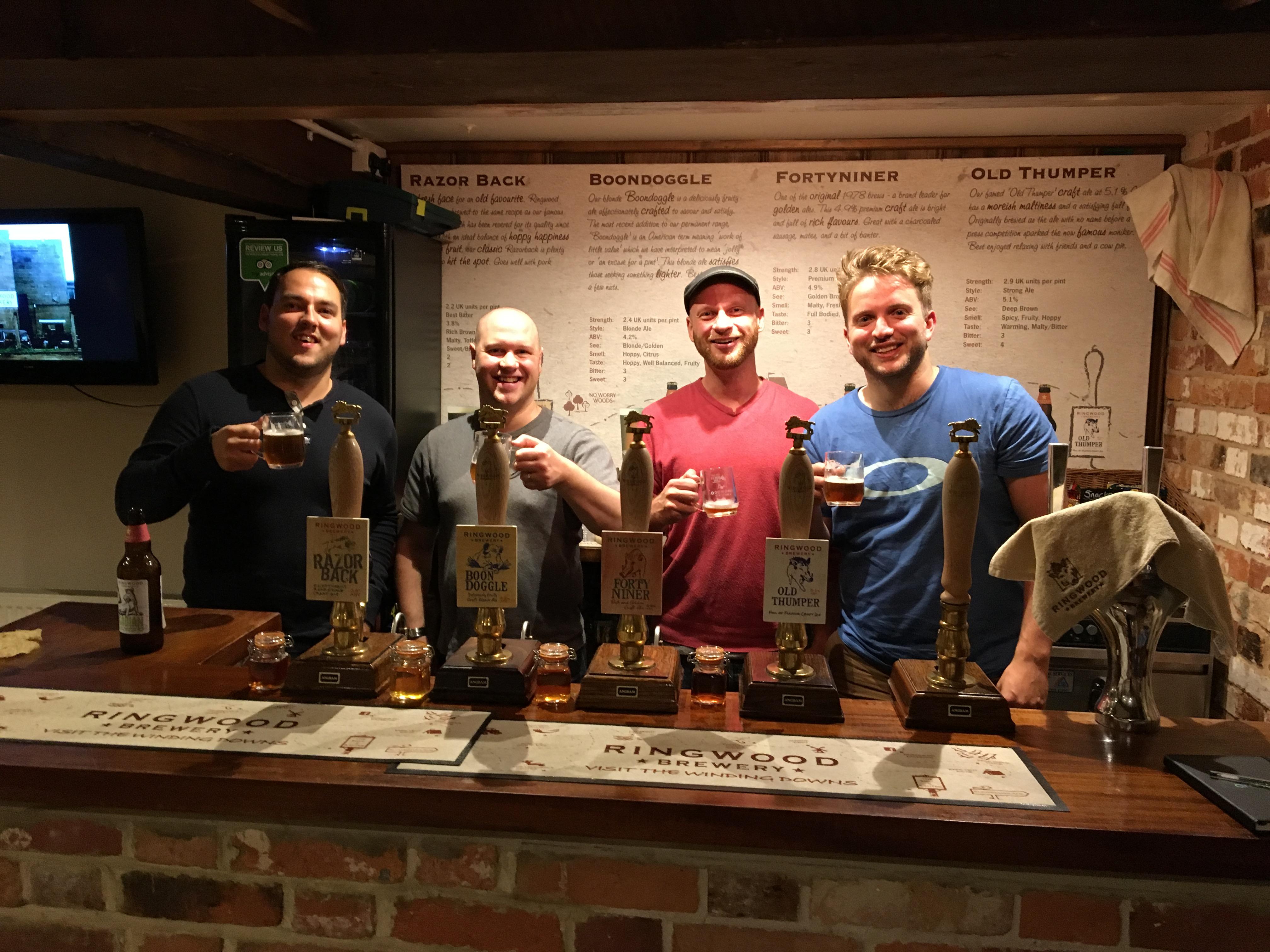 Review of Ringwood Breweryand their beers