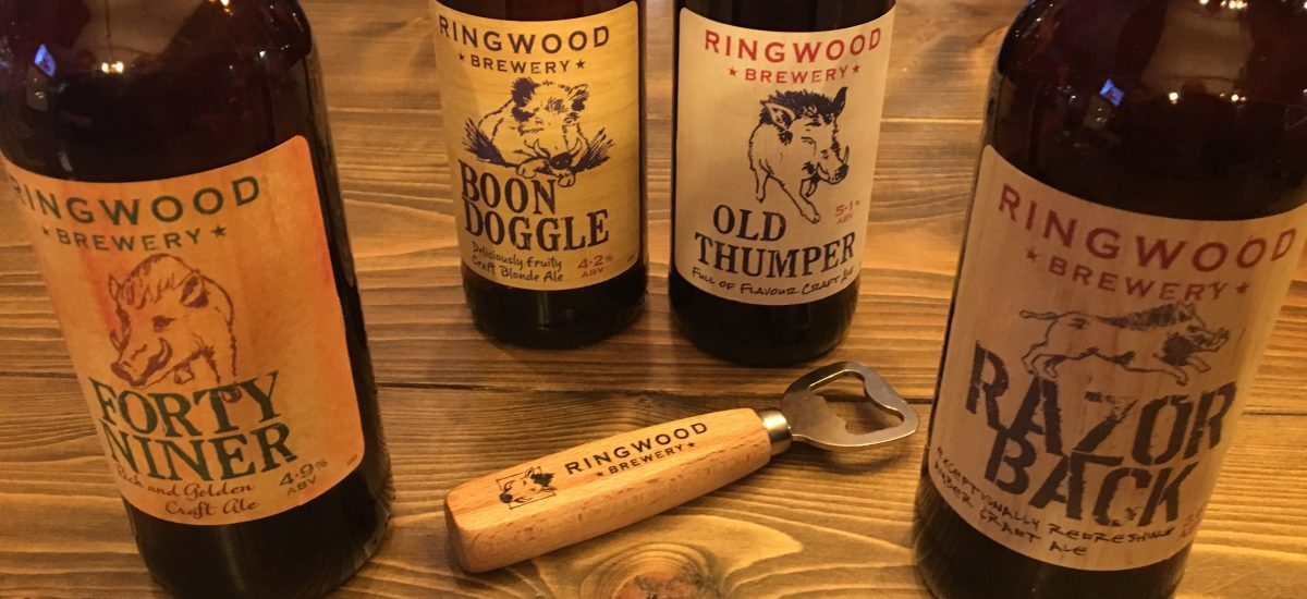 Review of Ringwood Brewery and their beers