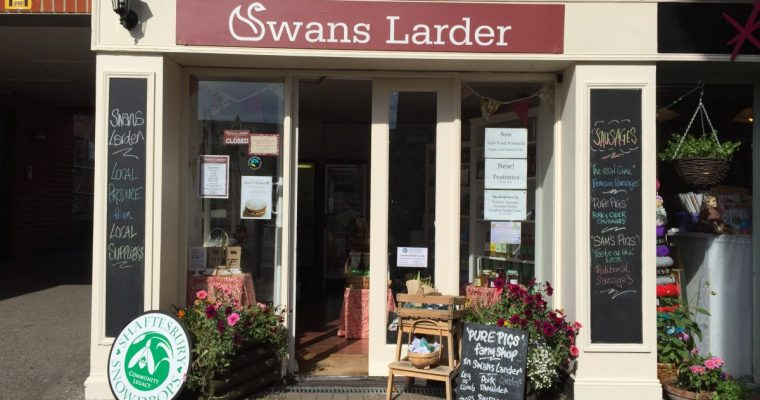 Review of Swans Larder Farm Shop in Shaftesbury