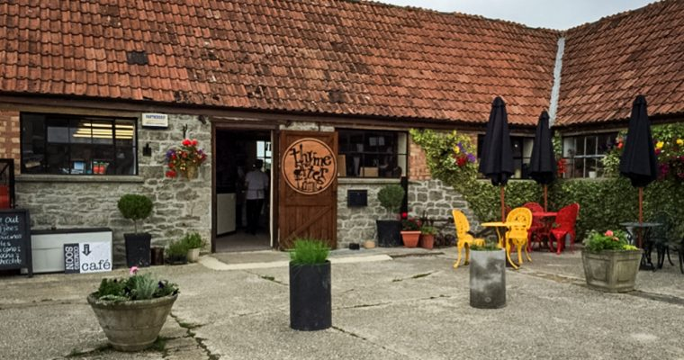 Review of Thyme after Time cafe in Stallbridge