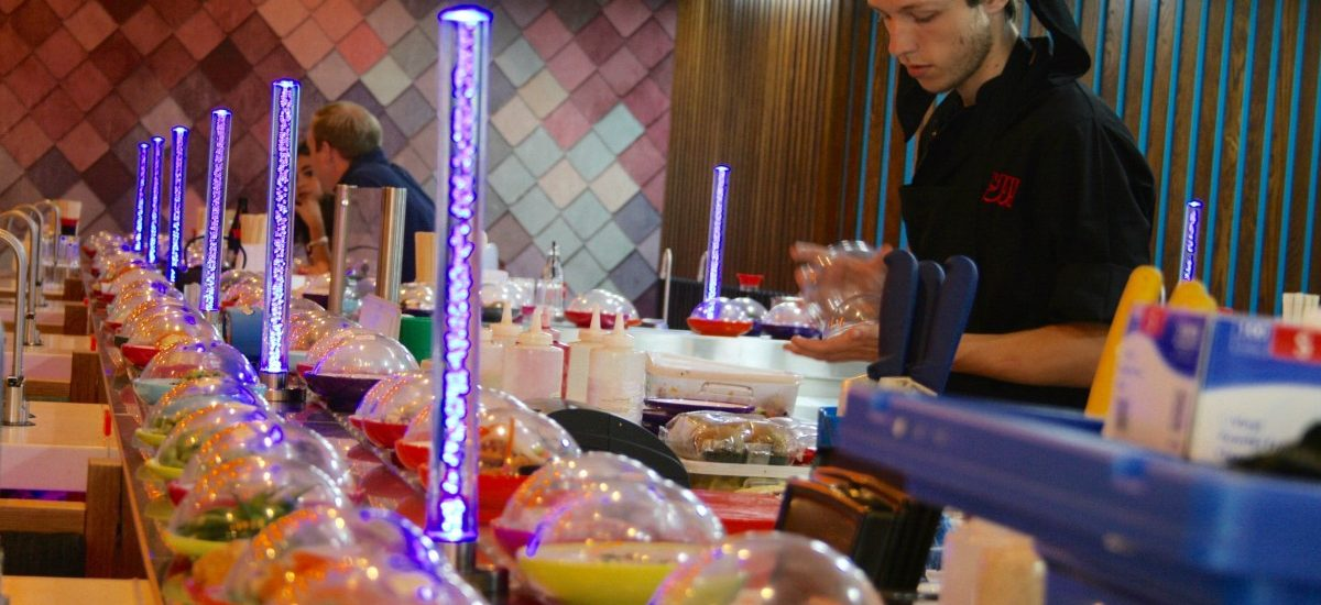 Review of Yo! Sushi in Bournemouth