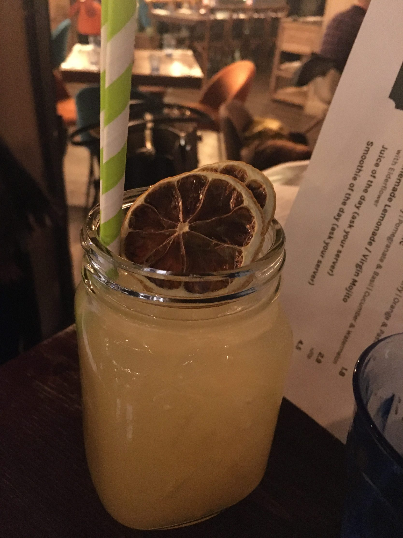 Review of the cocktails at Urban Garden