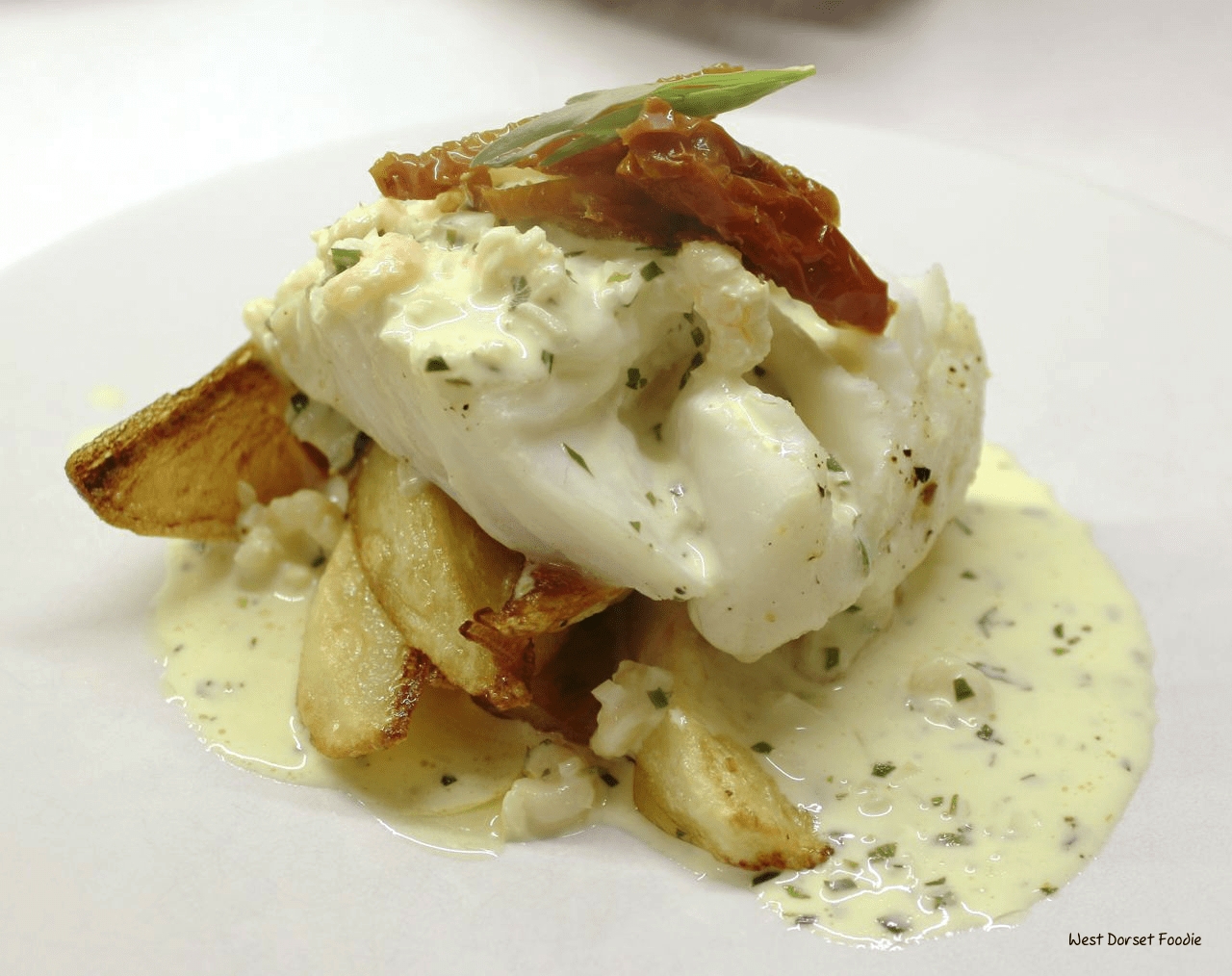Recipe for Cod with a Tarragon Sauce