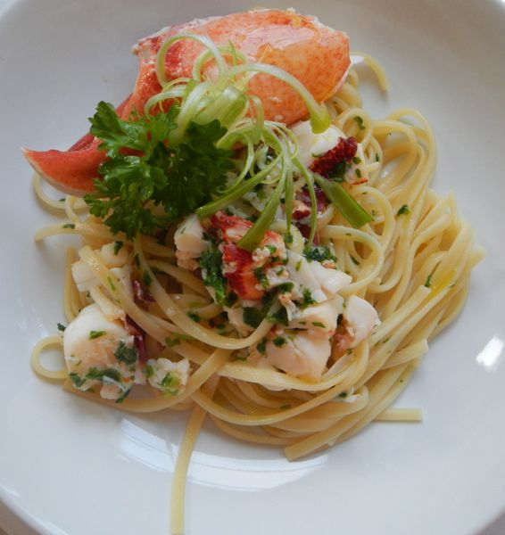 Recipe for Lobster and Linguine Pasta