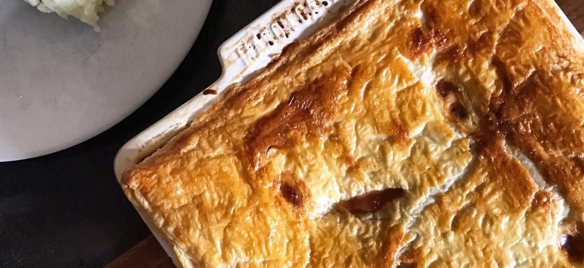 Recipe for Sausage and Baked Bean Pie