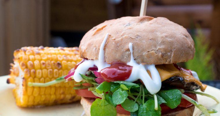 Recipe for Portobello Mushroom Burgers