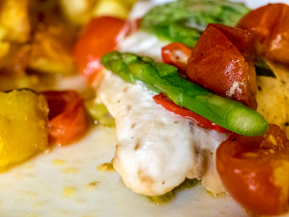 Recipe for Fish in parcels