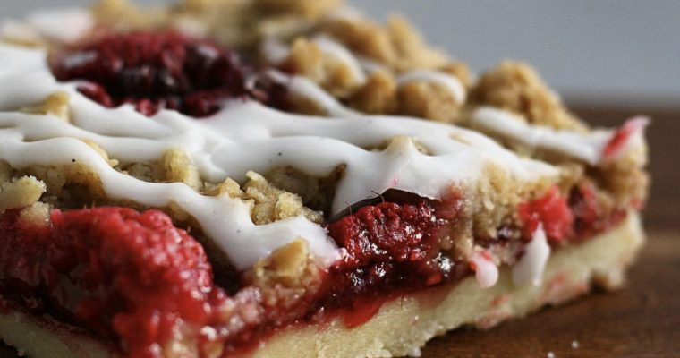 Baking Ratios and a Raspberry Crumble Bar Recipe