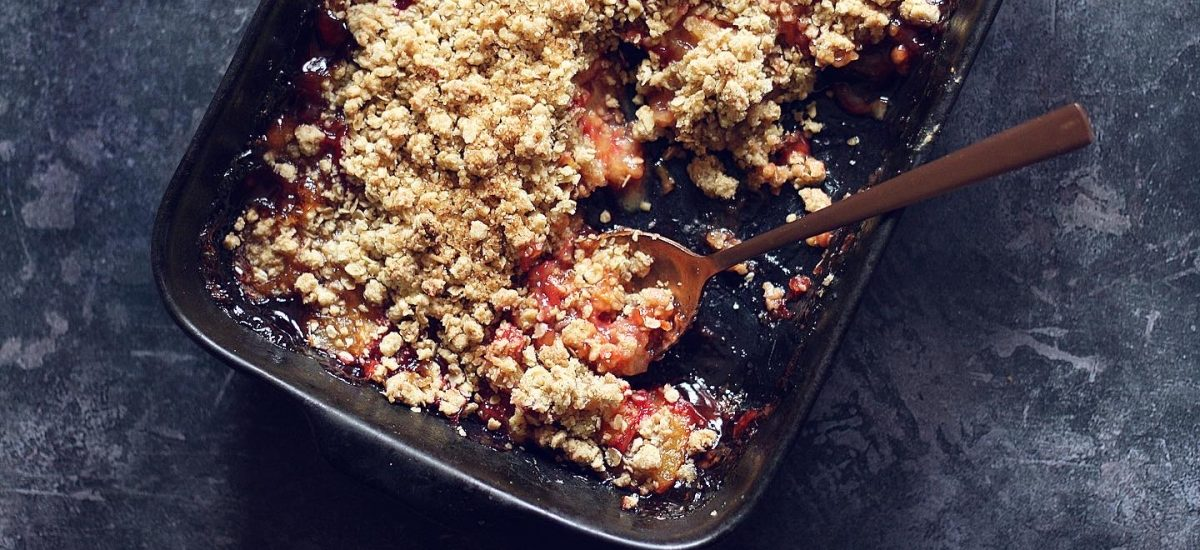 How to make a tasty fruit crumble