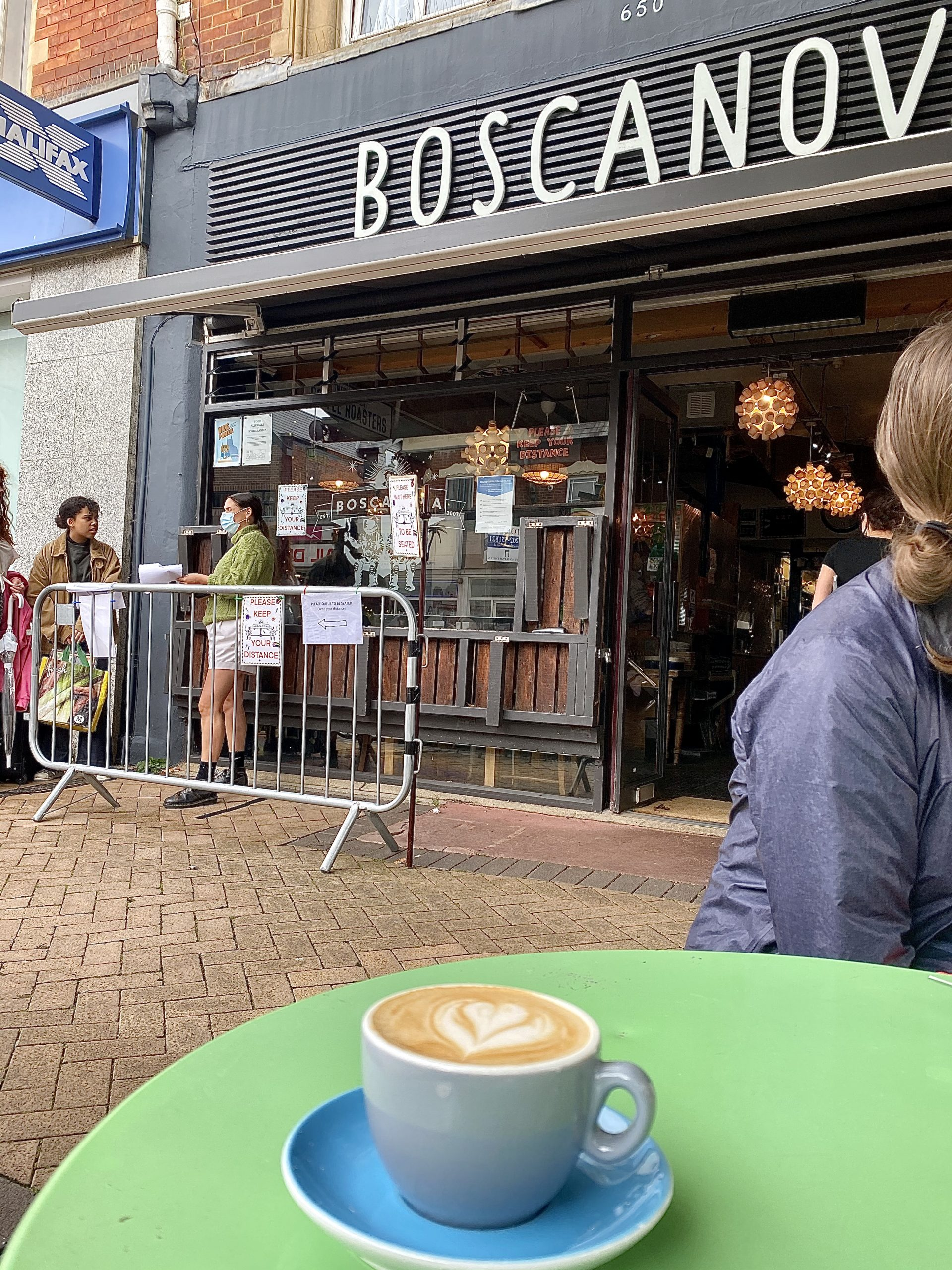 Review of Cafe Bosconova in Bournemouth