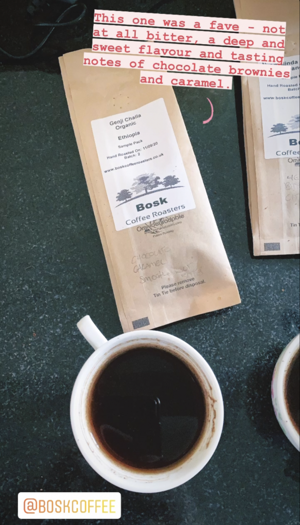 Review of Bosk Coffee