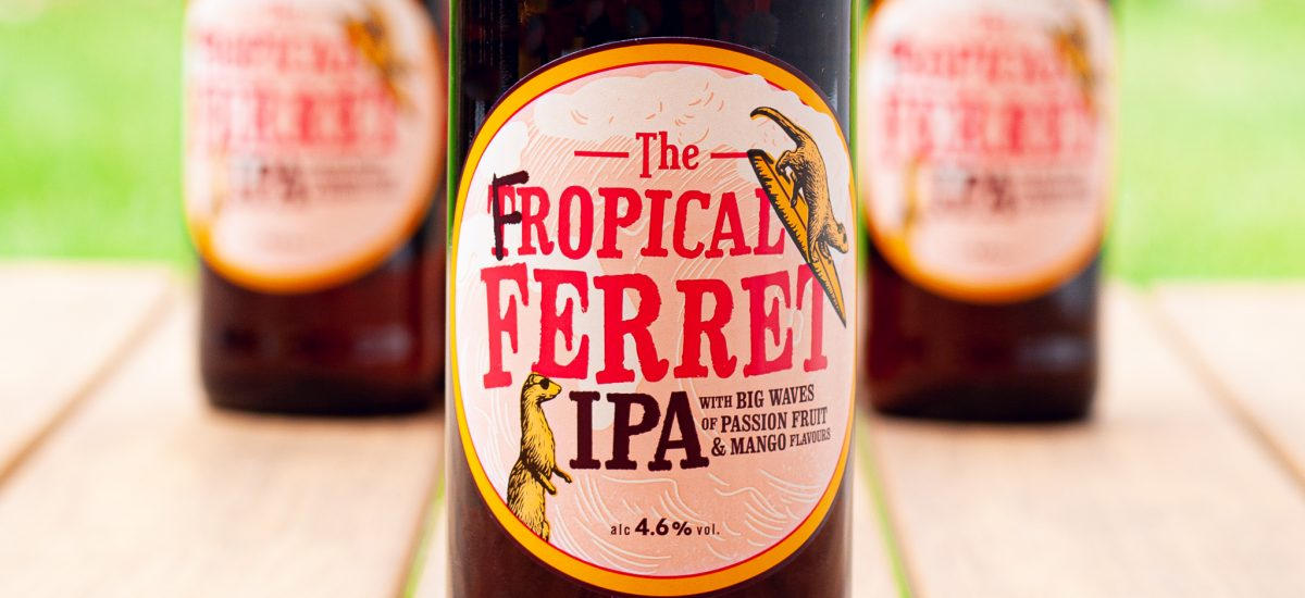 The new Fropical Ferret by Badger Beers